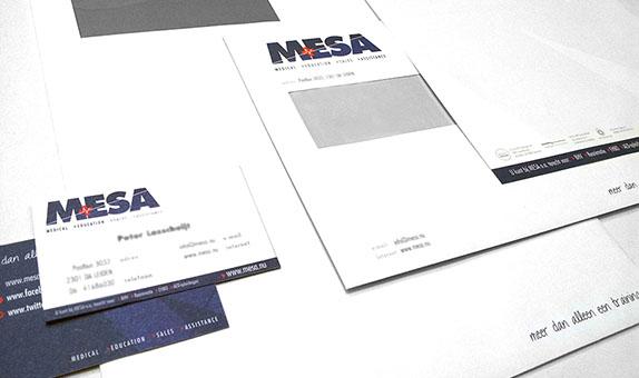 MESA logo en huisstijl