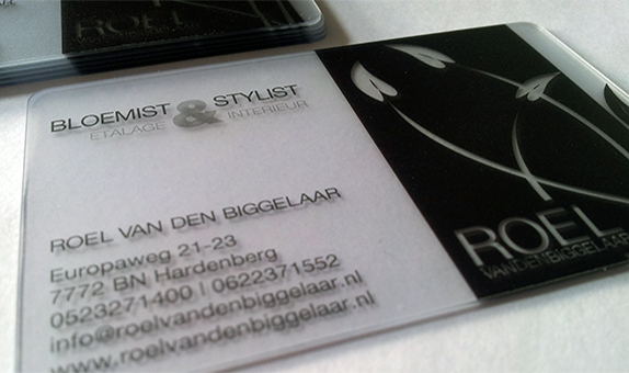 transparant visitekaartje Roel van den Biggelaar