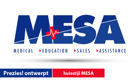 Prezies! ontwerpt nieuwe huisstijl MESA